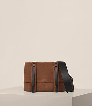 Women's Fin Box Bag (COFFEE BROWN) -