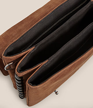 Women's Fin Box Bag (COFFEE BROWN) - product_image_alt_text_5