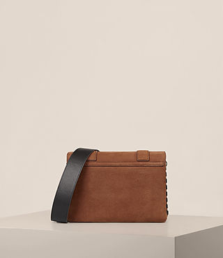 Women's Fin Box Bag (COFFEE BROWN) - product_image_alt_text_7