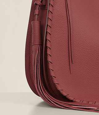 Women's Mori Md Hobo (BERRY RED) - Image 3