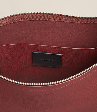 Women's Mori Md Hobo (BERRY RED) - Image 4