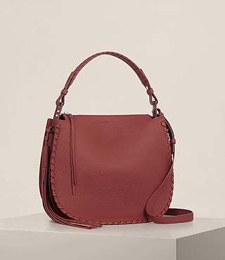 Women's Mori Md Hobo (BERRY RED) - Image 5