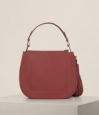 Women's Mori Md Hobo (BERRY RED) - Image 7