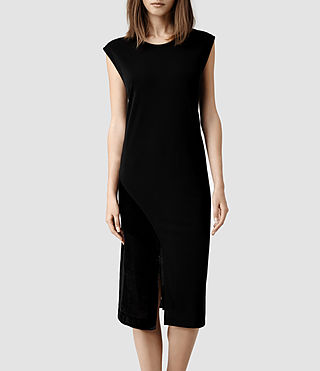 Womens Velo Dress (Black/Liquorice)