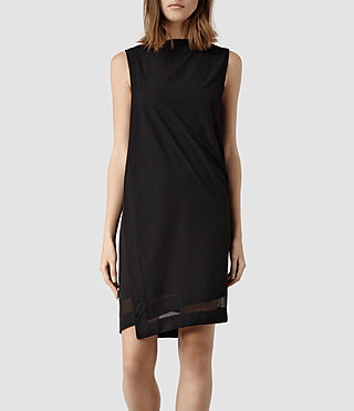 Women's Viola Dress (Black)