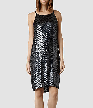 Women's Cecile Dress (Ink)