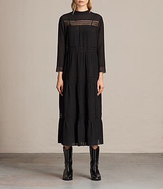 Womens Nima Dress (Black)