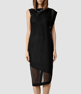 Womens Zaphir Dress (Black)