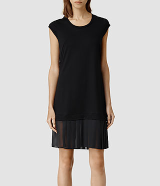 Women's Dart Dress (Black)