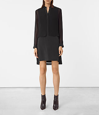 Damen Radial Dress (Black)
