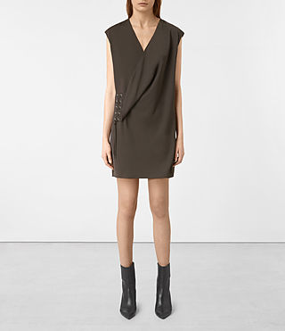 Mujer Aures Dress (ANTHRACITE GREY) -