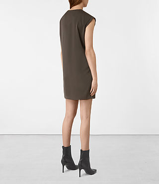 Mujer Aures Dress (ANTHRACITE GREY) - product_image_alt_text_5