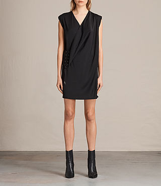 Womens Aures Dress (Black)