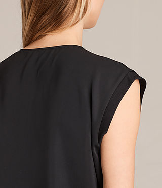 Women's Aures Dress (Black) - product_image_alt_text_6