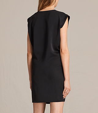 Women's Aures Dress (Black) - product_image_alt_text_7
