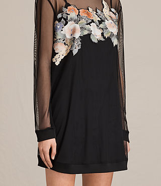 Damen Keela Kleid (Black) - product_image_alt_text_6