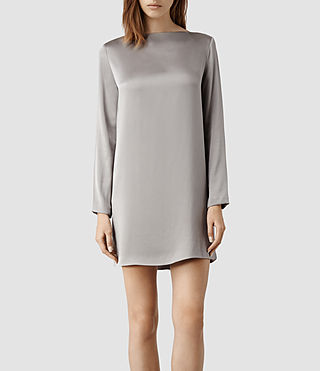 Women's Yve Dress (Taupe)
