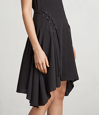 Womens Miller Dress (Black) - Image 2
