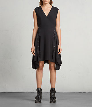 Womens Miller Dress (Black) - Image 3
