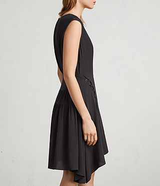 Womens Miller Dress (Black) - Image 4