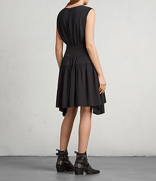 Womens Miller Dress (Black) - Image 5