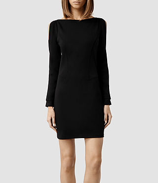 Womens Emelle Dress (Black)