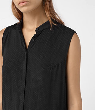 Mujer Lin Dress (Black) - product_image_alt_text_2