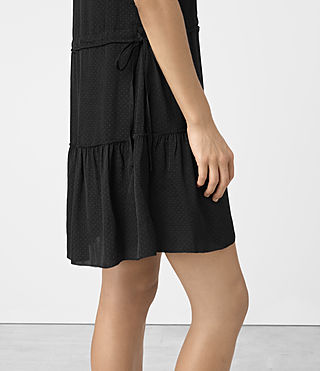 Mujer Lin Dress (Black) - product_image_alt_text_4