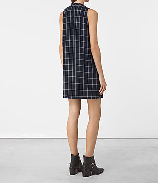 Damen Bea Dress (INK BLUE/C.WHITE) - product_image_alt_text_4