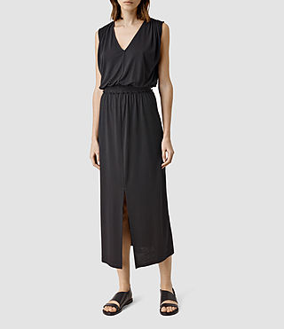 Womens Vela Dress (Black)