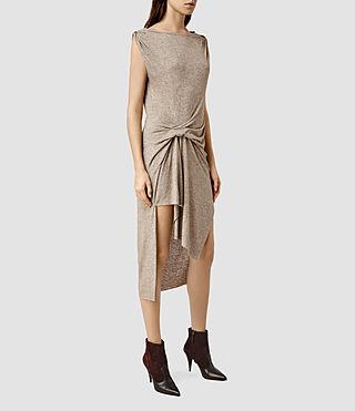 Women's Riviera Tavi Dress (Fawn Brown Marl)