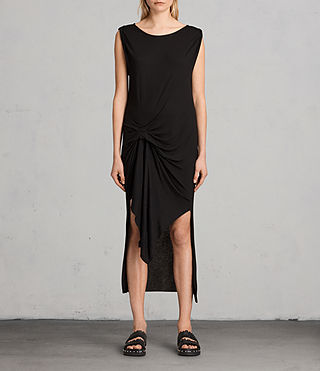 Femmes Riviera Tavi Dress (Black)