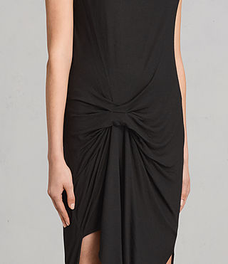 Womens Riviera Tavi Dress (Black) - product_image_alt_text_5