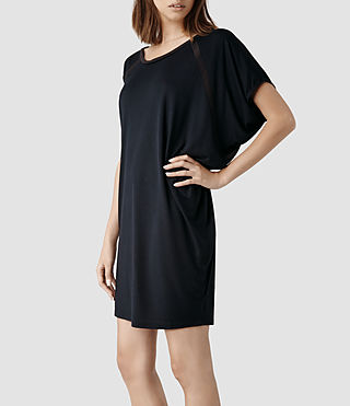Womens Tessi Dress (Ink/Liquorice)