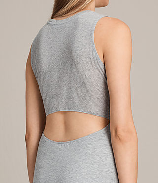 Womens Naia Dress (Grey Marl) - product_image_alt_text_2