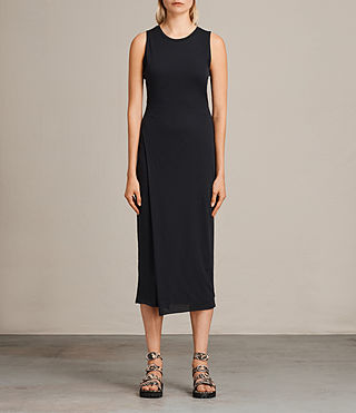 Womens Naia Dress (Black) - product_image_alt_text_1