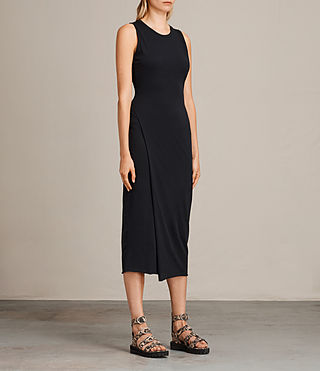 Womens Naia Dress (Black) - product_image_alt_text_3