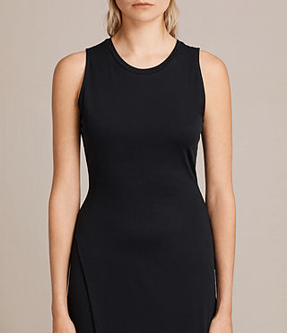 Womens Naia Dress (Black) - product_image_alt_text_4