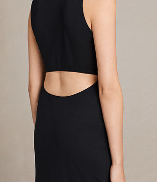 Womens Naia Dress (Black) - product_image_alt_text_6