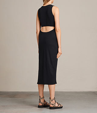 Womens Naia Dress (Black) - product_image_alt_text_7