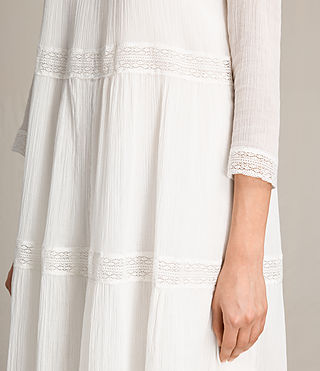 Women's Nima Pinto Dress (Chalk White) - Image 5