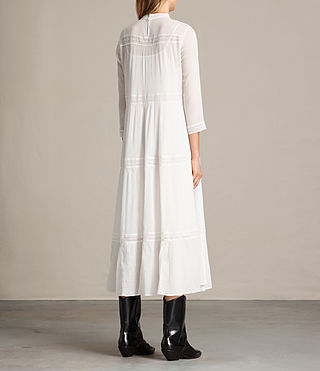 Women's Nima Pinto Dress (Chalk White) - Image 6