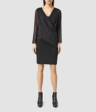 Womens Lowe Dress (Black/Black)