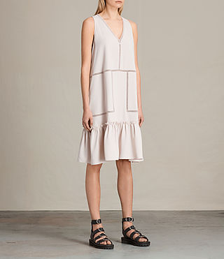 Womens Crace Dress (CHAMPAGNE PINK) - product_image_alt_text_3