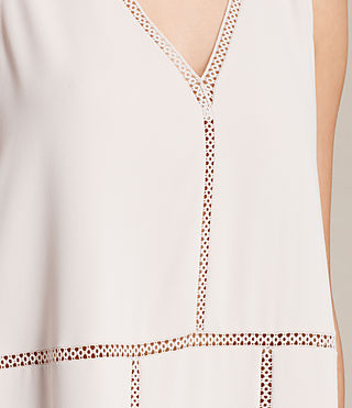 Womens Crace Dress (CHAMPAGNE PINK) - product_image_alt_text_5