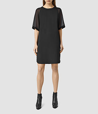 Womens Uma Dress (Black)