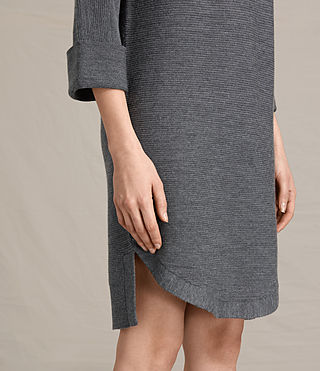 Mujer Esia Dress (Charcoal/Grey Marl) - product_image_alt_text_4