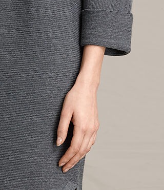 Damen Esia Dress (Charcoal/Grey Marl) - product_image_alt_text_5