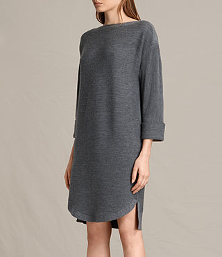 Damen Esia Dress (Charcoal/Grey Marl) - product_image_alt_text_6