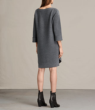 Mujer Esia Dress (Charcoal/Grey Marl) - product_image_alt_text_7